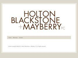 Holton Blackstone & Mayberry, P.C. (Nashville, Tennessee)