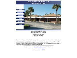 Hurd, Horvath & Ross, P.A. (West Palm Beach, Florida)