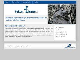 Hutton & Solomon LLP (New York, New York)