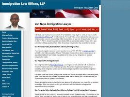 Immigration Law Offices, LLP (Burbank, California)