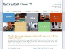 Ireland, Carroll & Kelley, P.C. (Tyler, Texas)