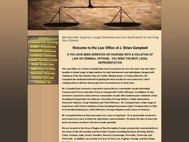 J. Brian Campbell Attorney at Law (Riverside Co., California)