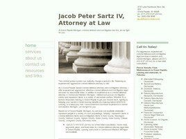 Jacob Peter Sartz IV Attorney at Law (Grand Rapids, Michigan)