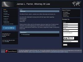 James L. Farrior, Attorney At Law (Gulfport, Mississippi)