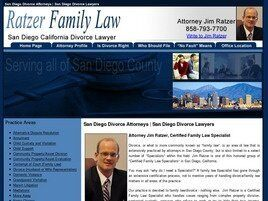 James M. Ratzer, A.P.C. - Ratzer Family Law (San Diego Co., California)