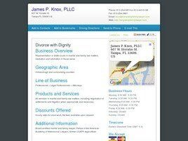 James P. Knox, PLLC Attorney and Counselor at Law (Tampa, Florida)