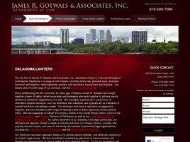 James R. Gotwals and Associates, Inc. A Professional Corporation (Tulsa, Oklahoma)