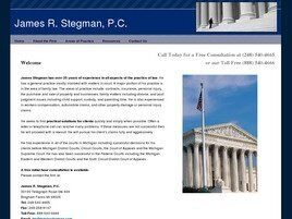 James R. Stegman, P.C. (Macomb Co., Michigan)