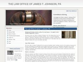 James T. Johnson, P.A. (Raleigh, North Carolina)