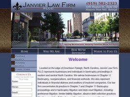 Janvier Law Firm, PLLC (Raleigh, North Carolina)