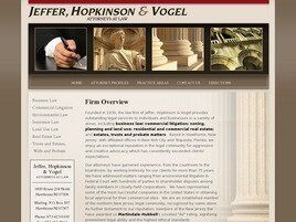 Jeffer, Hopkinson & Vogel (Bergen Co., New Jersey)