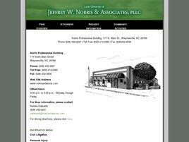 Jeffrey W. Norris & Associates, PLLC (Buncombe Co., North Carolina)