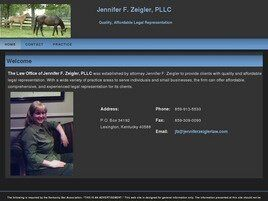 Jennifer Zeigler Hoerner, Attorney at Law (Lexington, Kentucky)