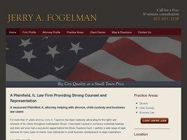 Jerry A. Fogelman (Bolingbrook, Illinois)