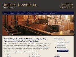 Jerry A. Landers, Jr. Attorney at Law (Marietta, Georgia)