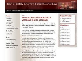 John B. Gately Attorney & Counselor at Law (Virginia Beach, Virginia)