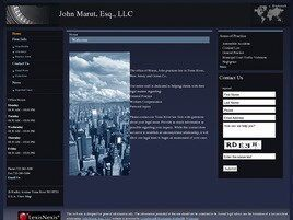 John Marut, Esq., LLC (Toms River, New Jersey)