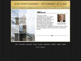 Jon Hoffheimer, Attorney at Law (Cincinnati, Ohio)