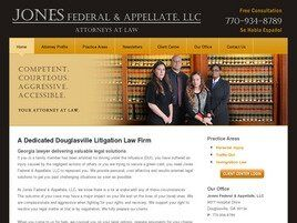 Jones Federal & Appellate, LLC (Douglasville, Georgia)
