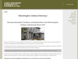 Jones, McGlasson & Benckart, P.C. (Bloomington, Indiana)