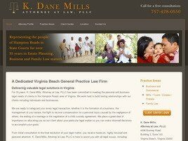 K. Dane Mills Attorney at Law, PLLC (Virginia Beach, Virginia)