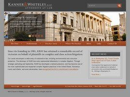 Kanner & Whiteley, L.L.C. (New Orleans, Louisiana)
