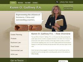 Karen O. Gaffney, P.A. (Inverness, Florida)