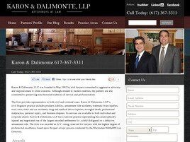 Karon & Dalimonte, LLP (Boston, Massachusetts)