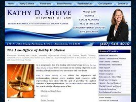 Kathy D. Sheive, Attorney at Law (Kissimmee, Florida)