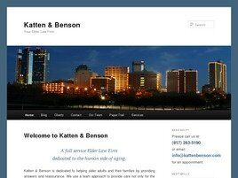 Katten & Benson, Attorneys at Law (Dallas, Texas)