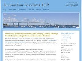 Kenyon Law Associates, LLP (Wakefield, Rhode Island)