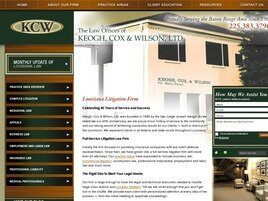 Keogh, Cox & Wilson, Ltd. (Baton Rouge, Louisiana)