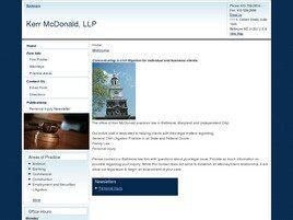 Kerr McDonald, LLP (Baltimore, Maryland)