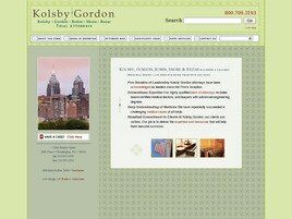 Kolsby, Gordon, Robin, Shore & Bezar A Professional Corporation (Philadelphia, Pennsylvania)