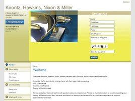 Koontz, Hawkins & Miller, LLC (Concord, North Carolina)