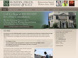 Koszdin, Fields, Sherry & Katz (Encino, California)