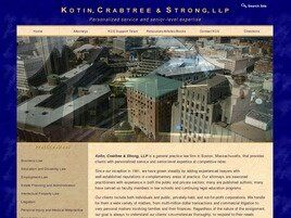 Kotin, Crabtree & Strong, LLP (Plymouth Co., Massachusetts)