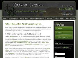Kramer Kozek, LLP (Westchester Co., New York)