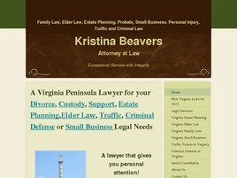 Kristina Beavers, Attorney at Law (Newport News, Virginia)