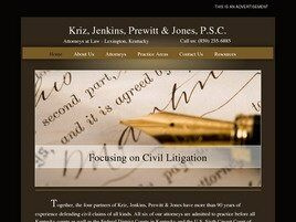 Kriz, Jenkins, Prewitt & Jones, P.S.C. (Lexington, Kentucky)