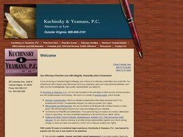 Kuchinsky & Yeamans, P.C. (Chesterfield, Virginia)