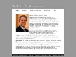 Lane J. Thomas, Attorney at Law (Pasadena, California)