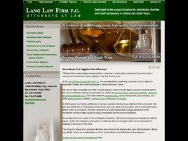 Lang Law Firm, P.C. (San Antonio, Texas)