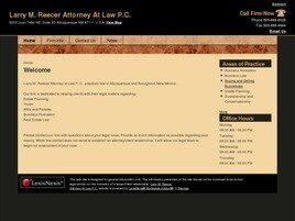 Larry M. Reecer Attorney At Law P.C. (Albuquerque, New Mexico)