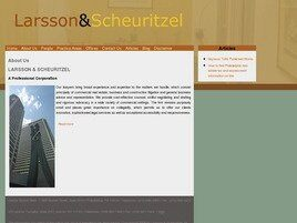 Larsson & Scheuritzel A Professional Corporation (Philadelphia, Pennsylvania)