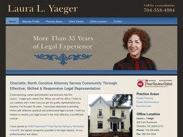 Laura L. Yaeger (Charlotte, North Carolina)