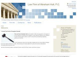 Law Firm of Abraham Hutt, P.C. (Aurora, Colorado)