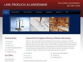 Law, Froelich & Landesman (Newark, New Jersey)
