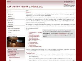 Law Office of Andrew J. Pianka, LLC (New Haven, Connecticut)