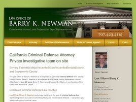 Law Office of Barry K. Newman (Vallejo, California)